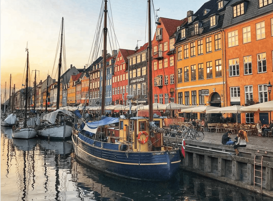 Where to stay in Copenhagen - view of the seaside with boats