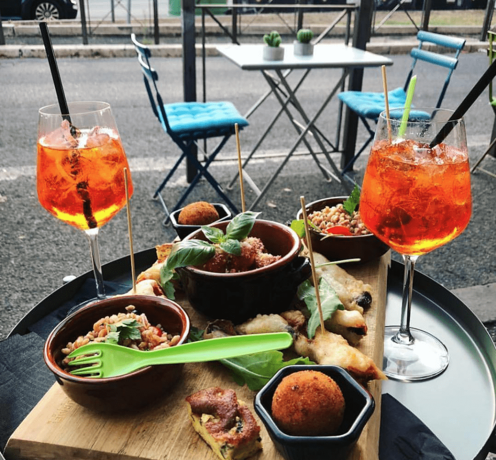 What To Eat In Rome - Roman Style APERITIVO