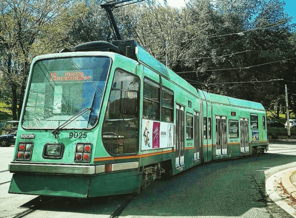 Public Transportation In Rome - Tramway