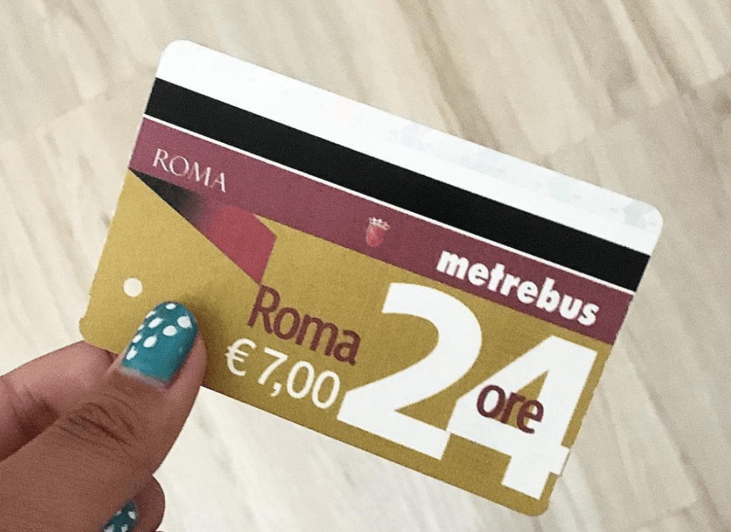 Public Transportation In Rome - Transport Pass