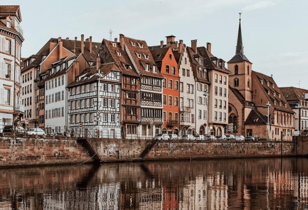 Visiting Strasbourg - Louise Weiss Building
