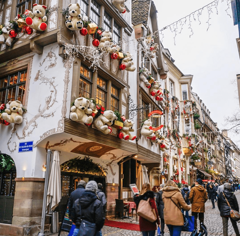 Visiting Strasbourg - Strasbourg In Winter