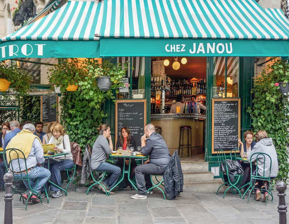 Best Shows In Paris - Chez Janou