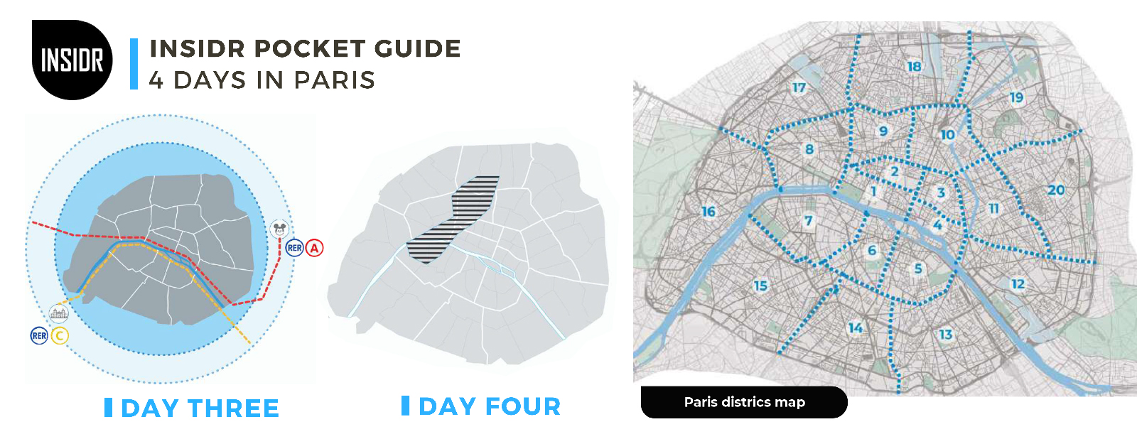 Paris 4 Days Itinerary 2019 - INSIDR Day Three & Day Four In Paris Pocket Guide