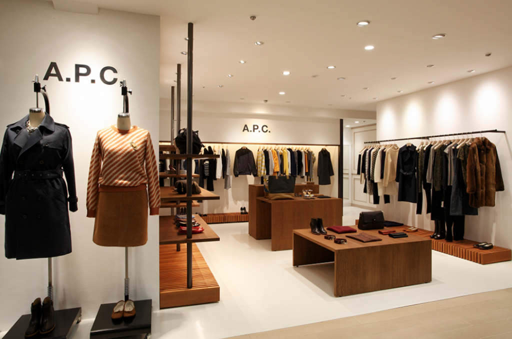 INSIDR Guide To Paris Outlet Mall - A.P.C Shopping Outlet