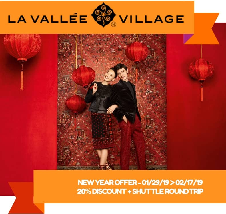 Monge x La Vallée Village VIP shopping invitation