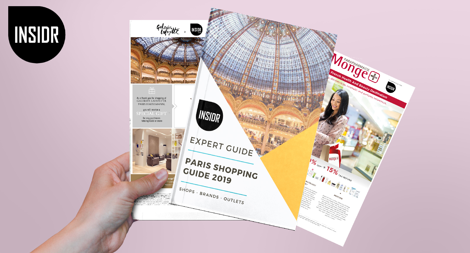 INSIDR Paris Shopping Guide - Budget Tips & Paris Shopping Vouchers