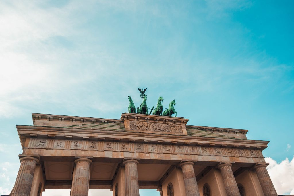 Attractions in Berlin - Brandenburg Gate