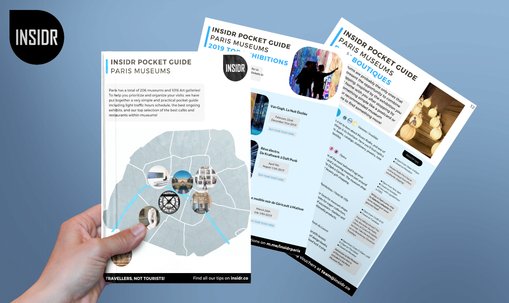 INSIDR museum guide and INSIDR museums best tips preview in english