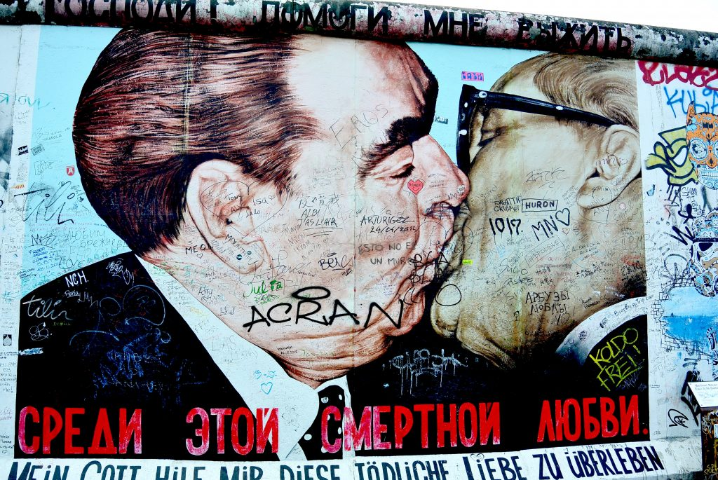 Attractions in Berlin - East Side Gallery