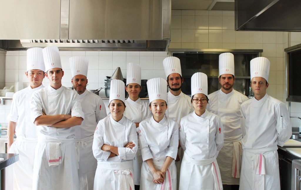 Alain Ducasse cooking school