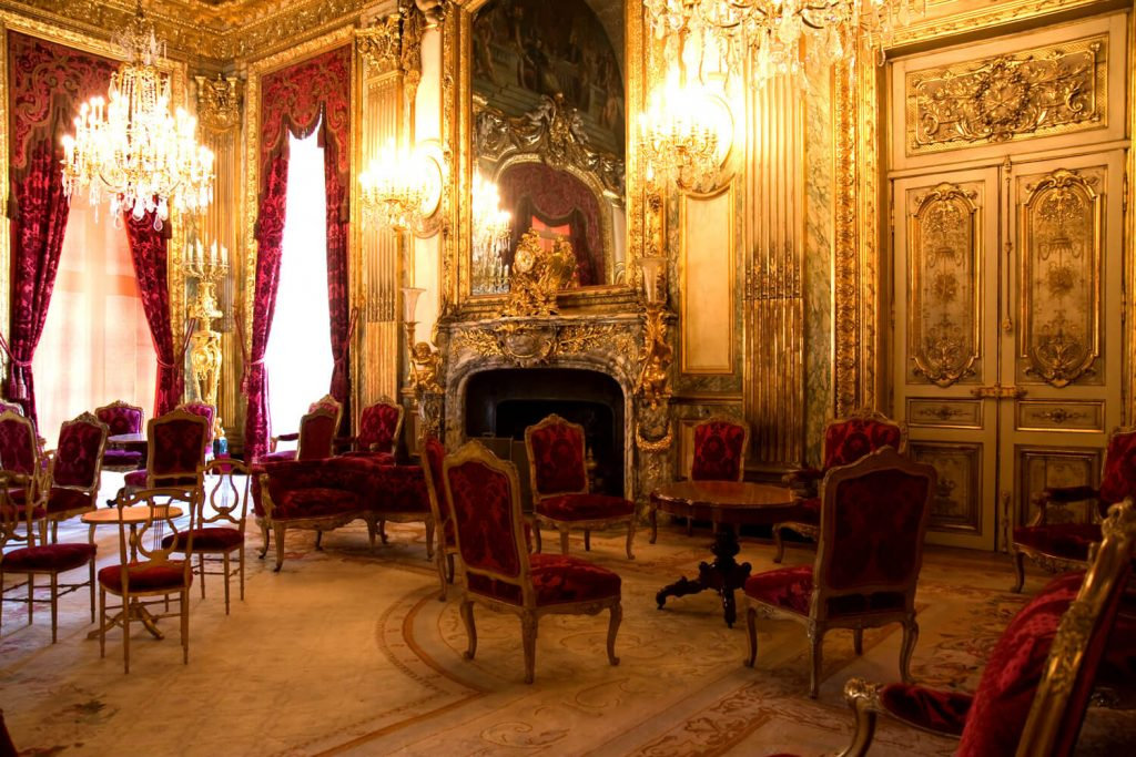 Inside the Napoleon Apartments at the Louvre