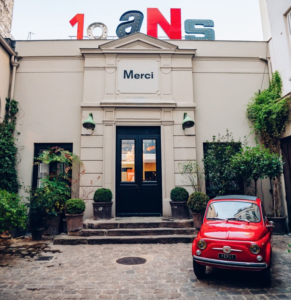 Merci Paris concept store in Le Marais