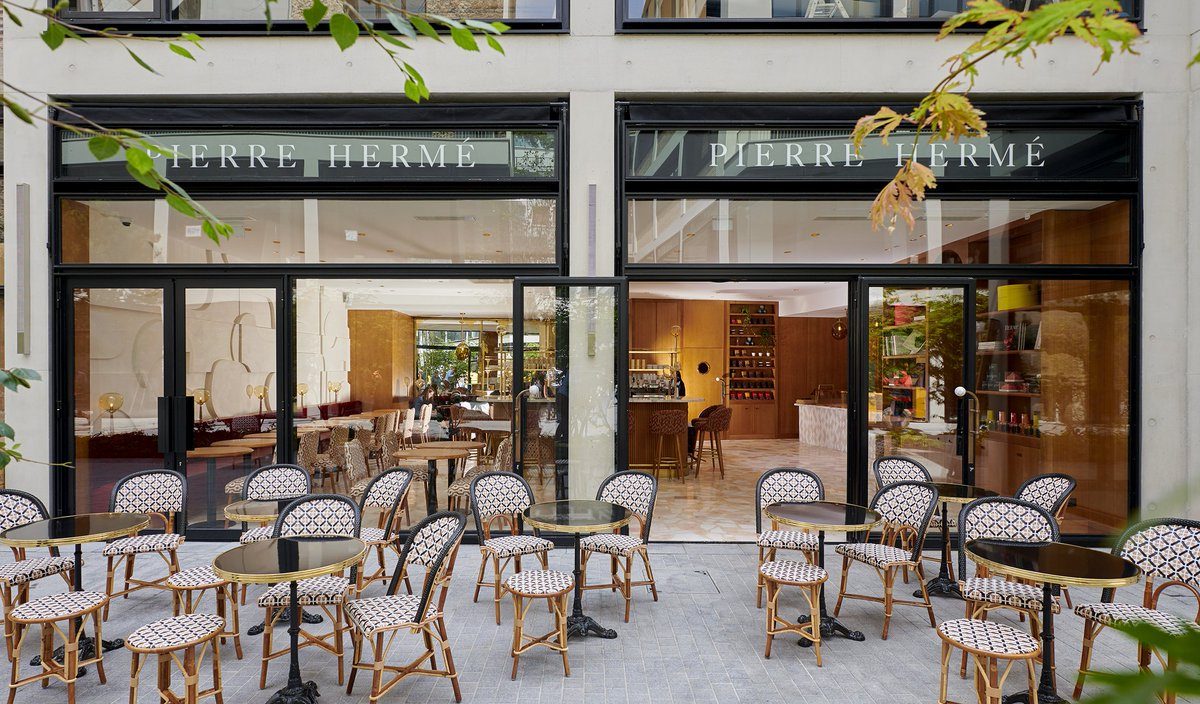 Saint Germain de Pres Map -  Pierre Hermé Sweet Treats