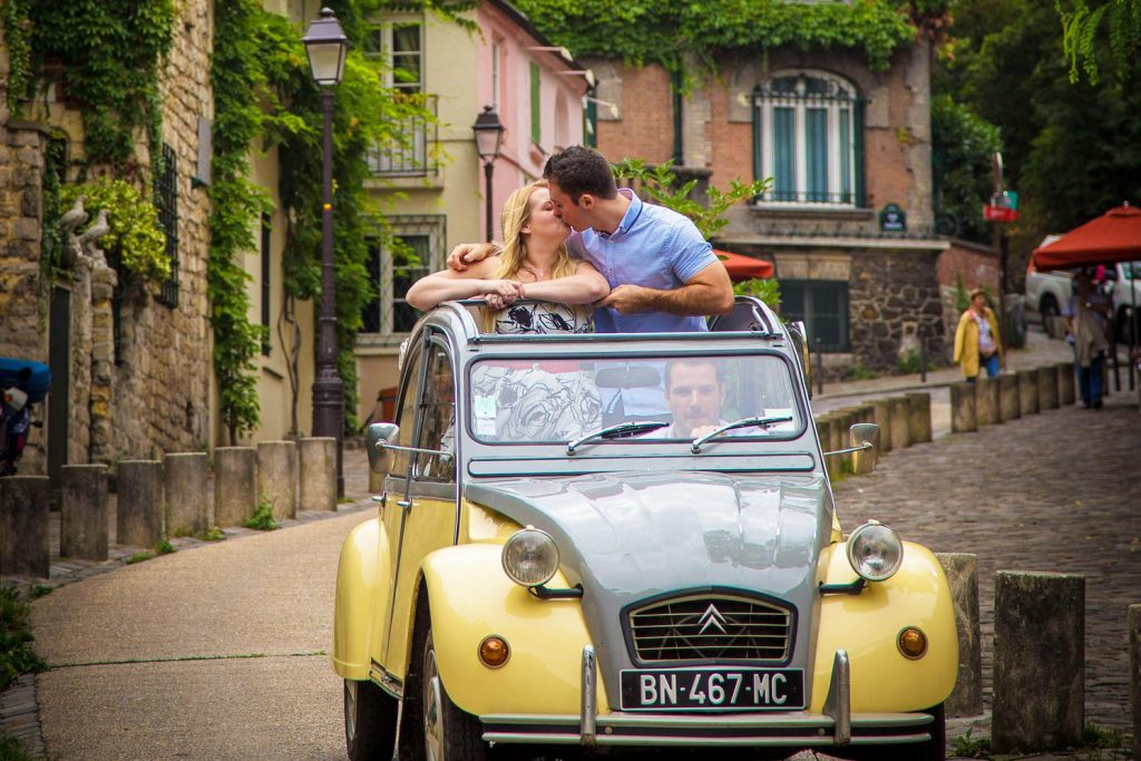 2CV tour around Paris