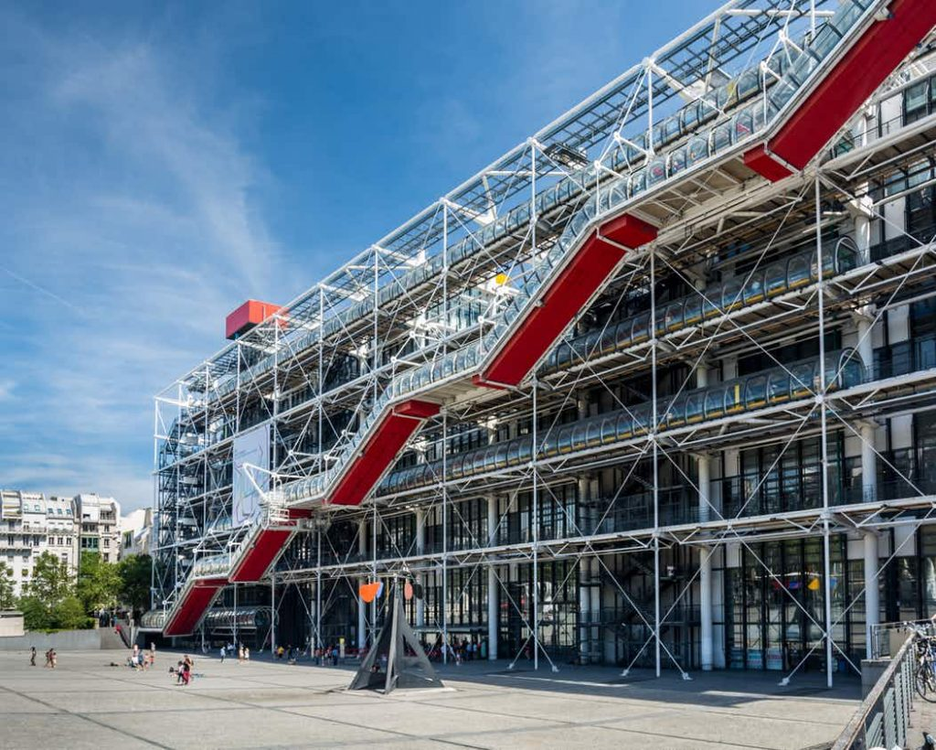 Centre Pompidou - Free Museums in Paris