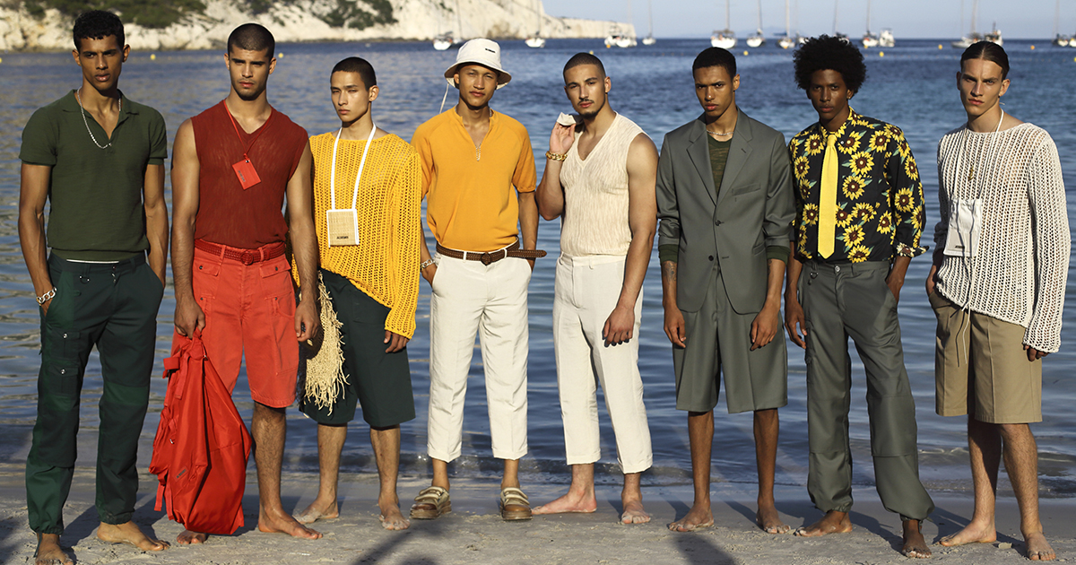Jacquemus mens collection