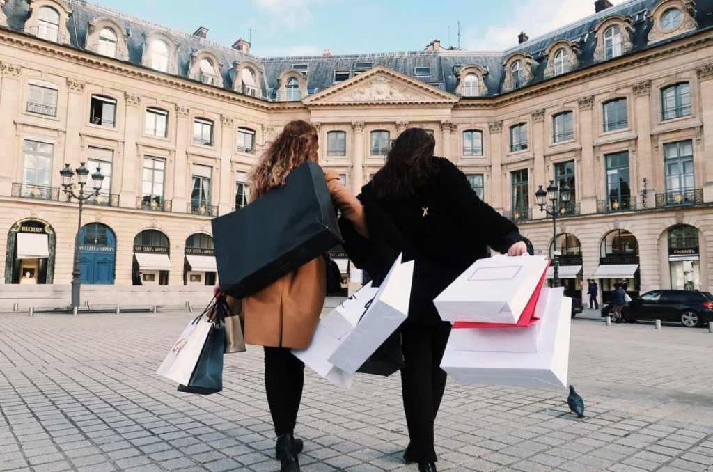 shopping in paris - Paris photoshoot