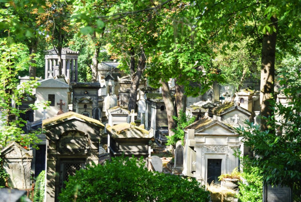 Paris Attraction Maps - Père Lachaise Cemetery