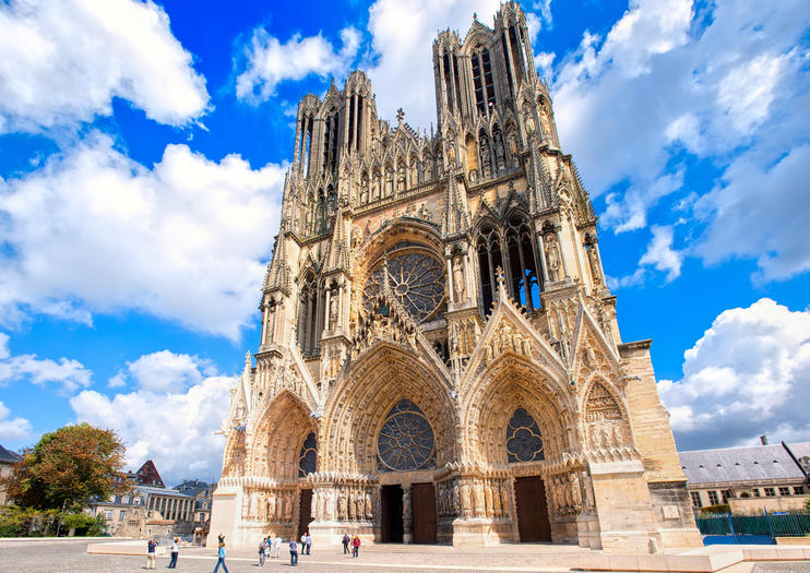 Reims France Map - Reims Cathedral