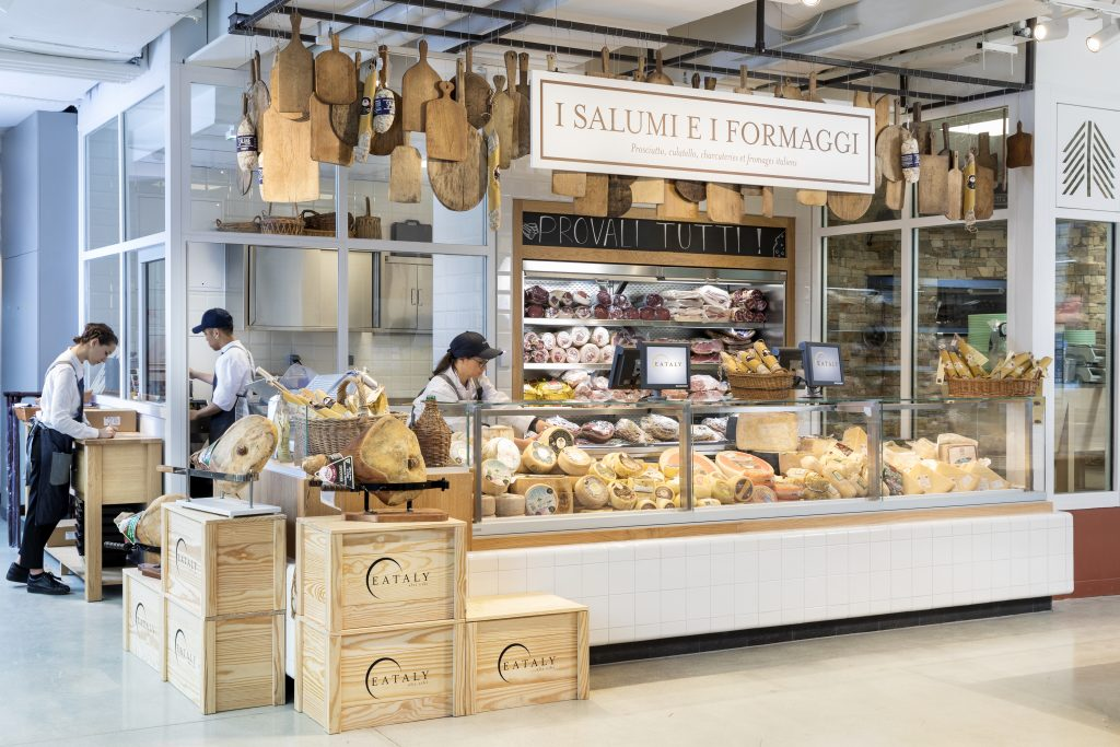 Inside Eataly Marais in Paris