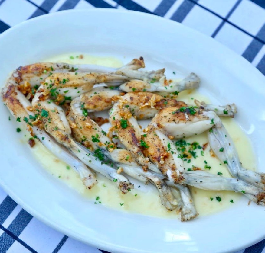 Scary French Foods - Frog Legs