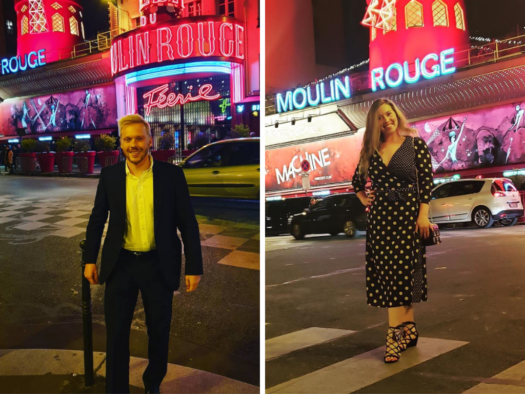 Dress code examples at the Moulin Rouge