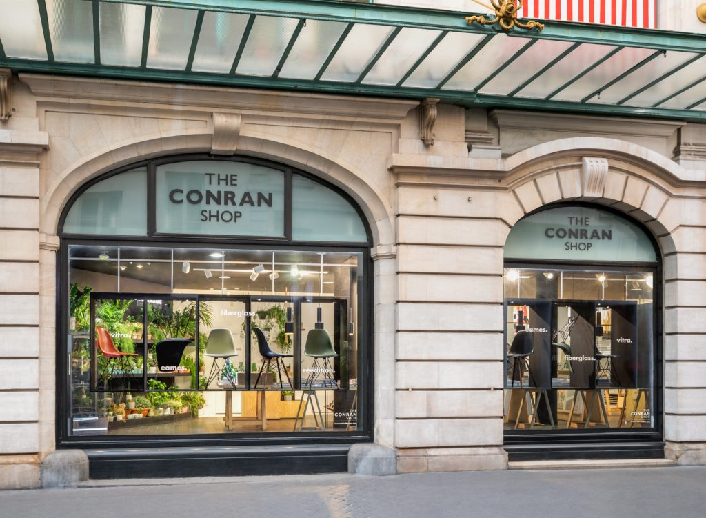 The shop front of The Conran Shop in Paris