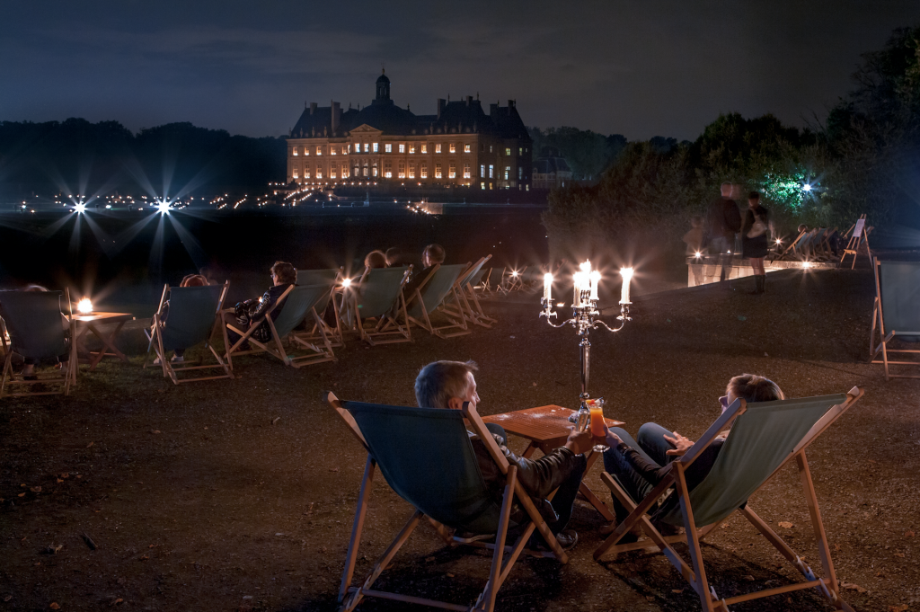 Candlelit evening at Chateau Vaux-le-Vicomte