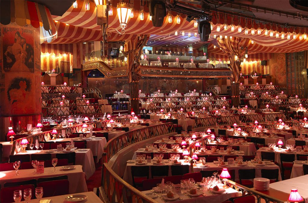 The Moulin Rouge auditorium
