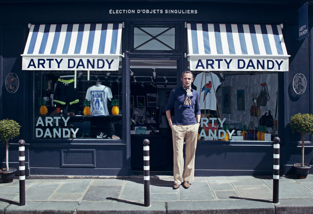 Arty Dandy store front