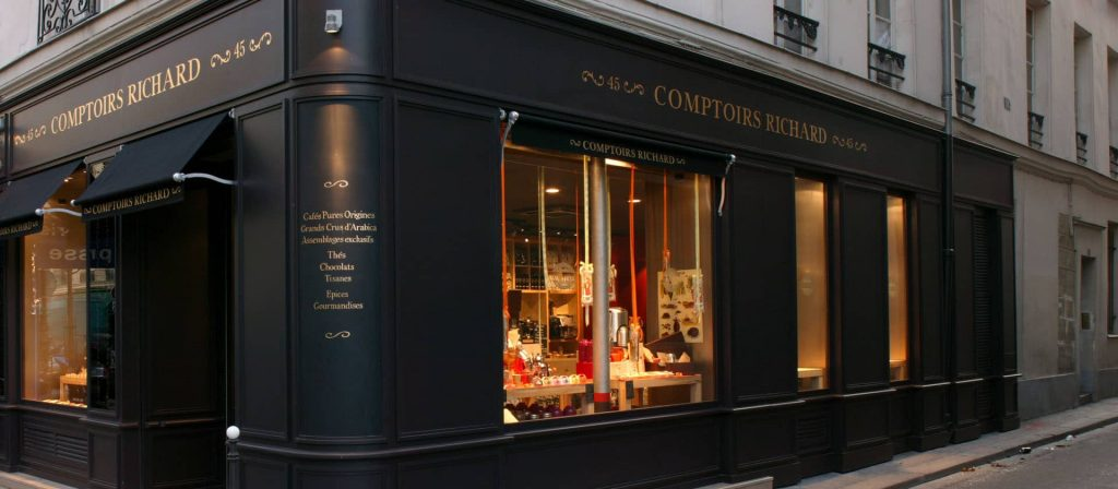 Store front of Comptoirs Richard