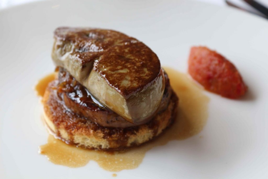 Gourmet French food to try: foie gras