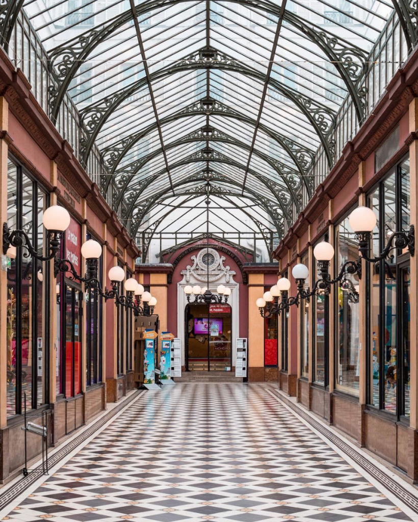 Le Passage des Princes in Paris