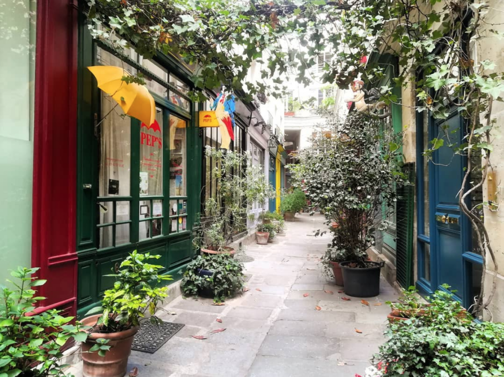 Le Passage de L'Ancre in Paris