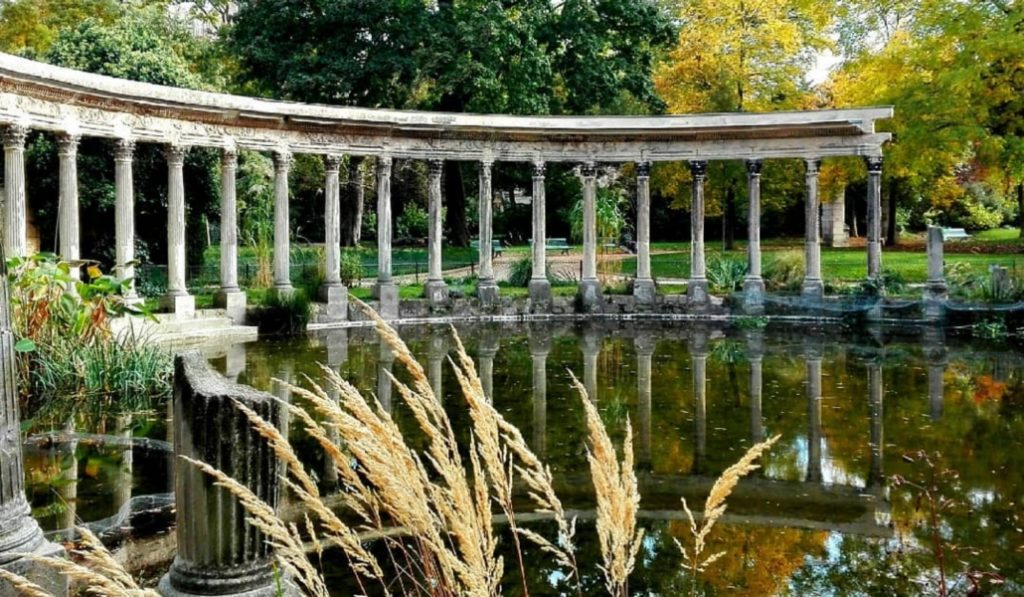 Parc Monceau in Paris