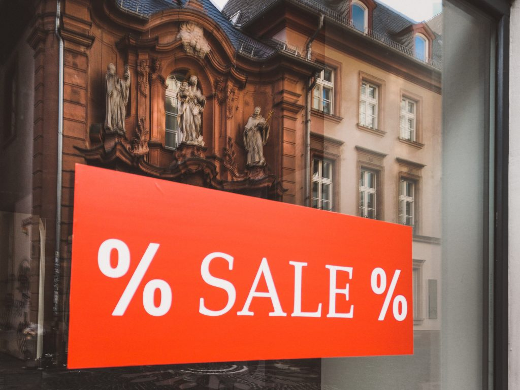 Sales in Paris