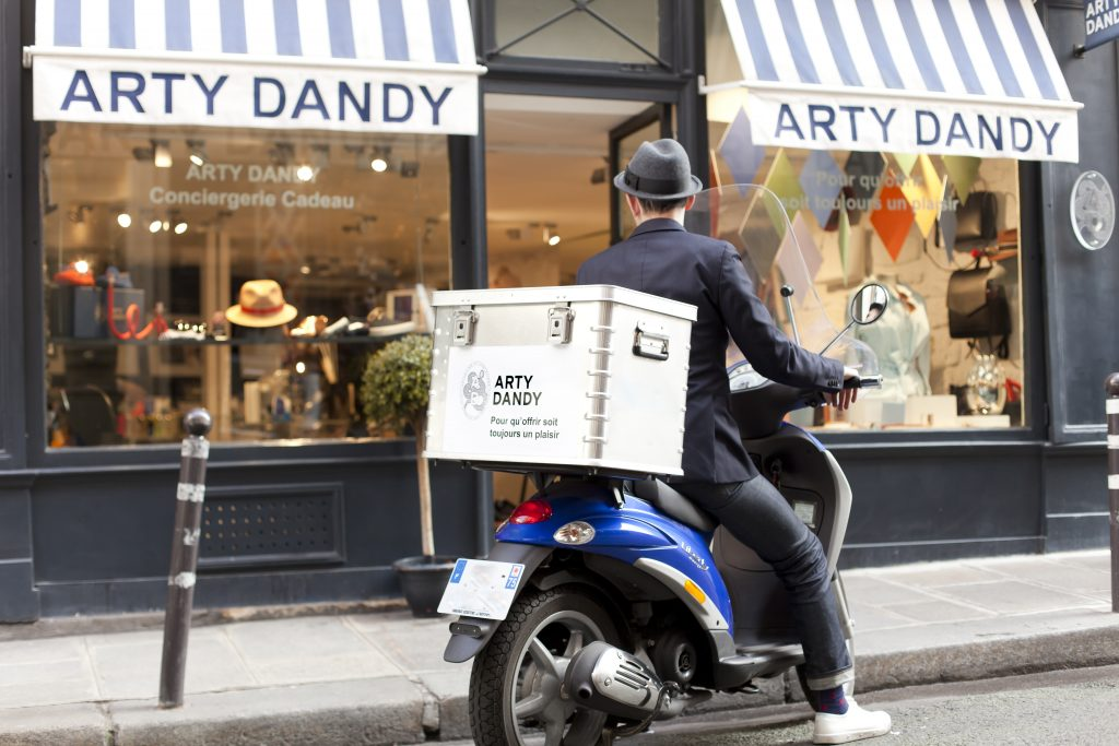 Arty Dandy Scooter