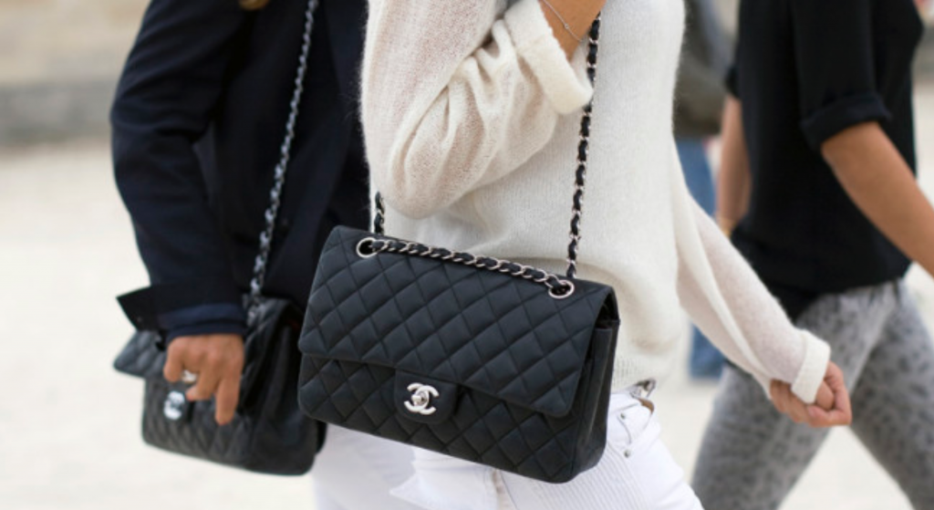 Chanel 2.55 bag - french leather