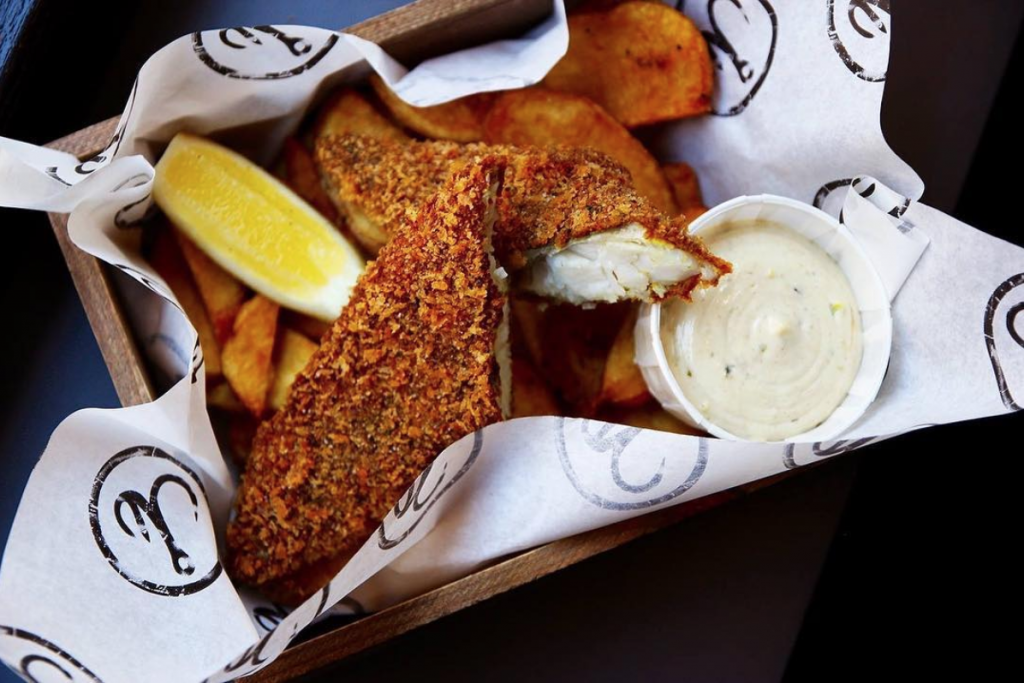 The best fish and chips in London - Hook Camden