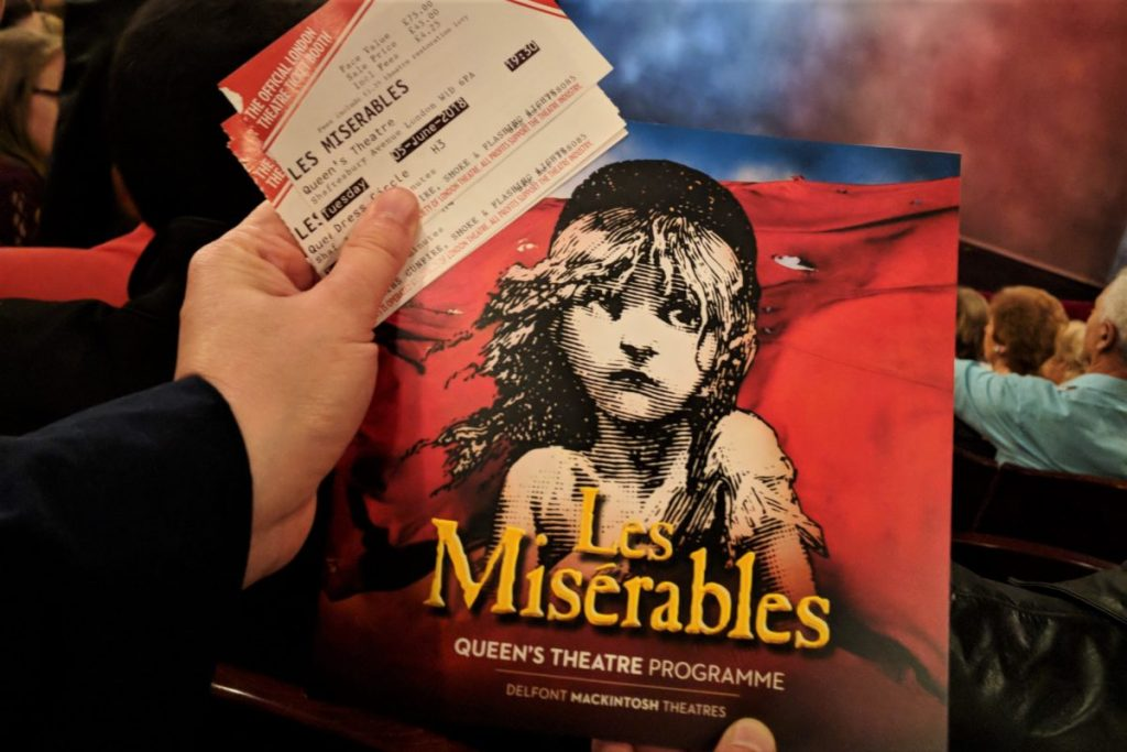 Les Miserables - one of the best musicals in London