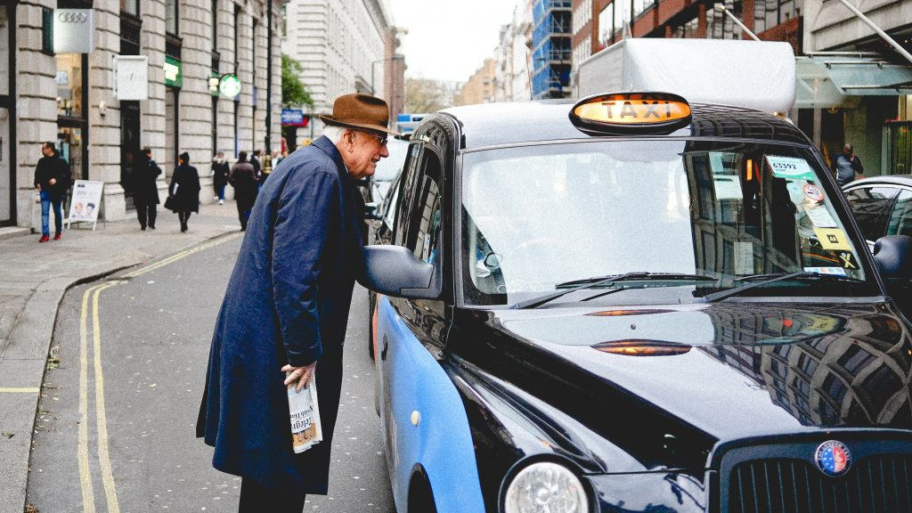 London taxi - one of the tourist scams in London