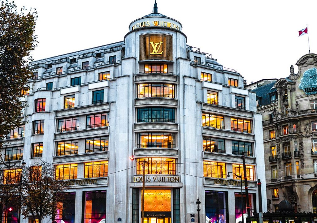 Louis Vuitton flagship in Paris
