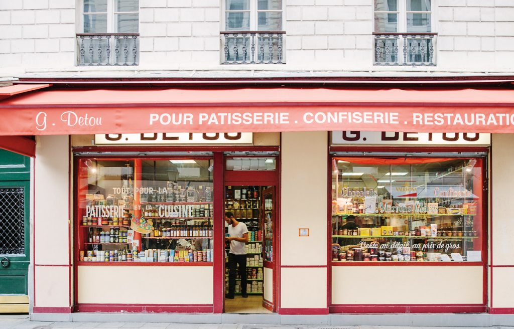 local food shops inside the Eating in Paris guide