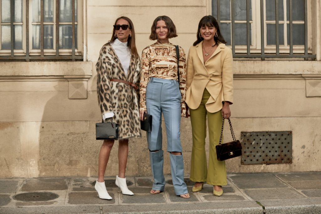 streetstyle at Paris Fashion Week