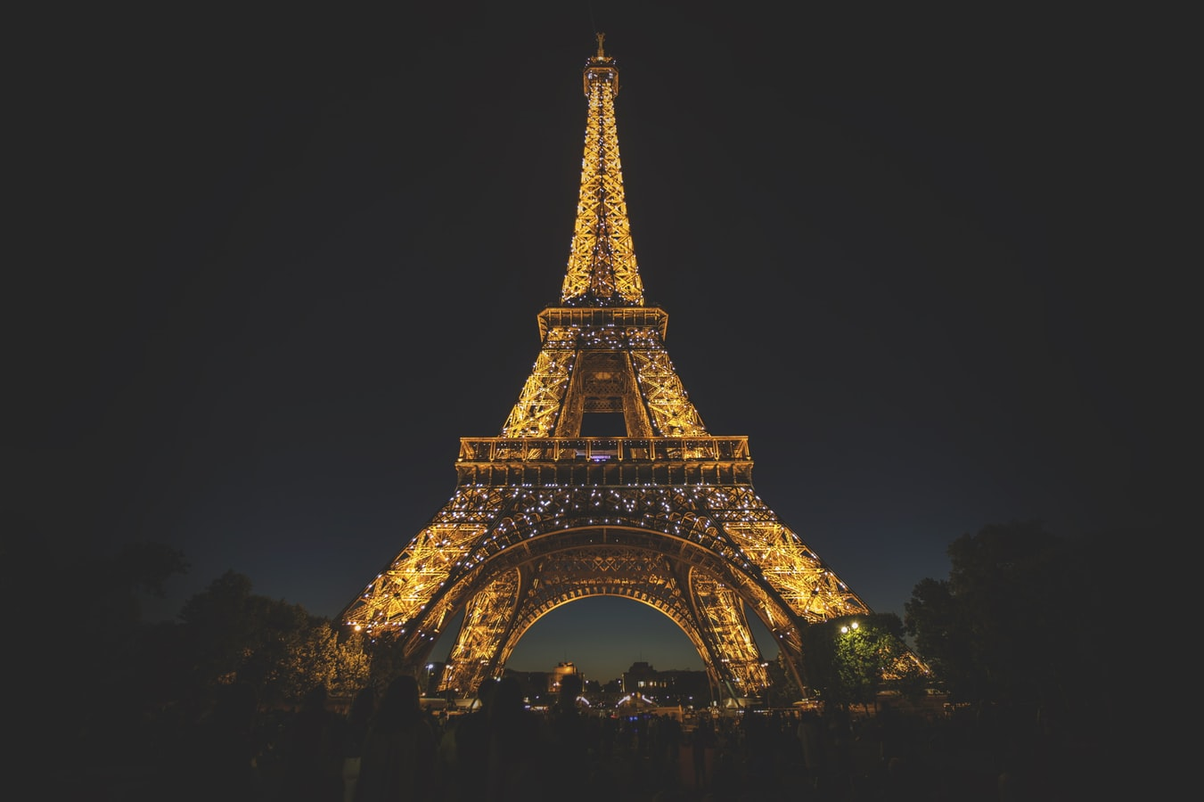 Food Market at the Eiffel Tower