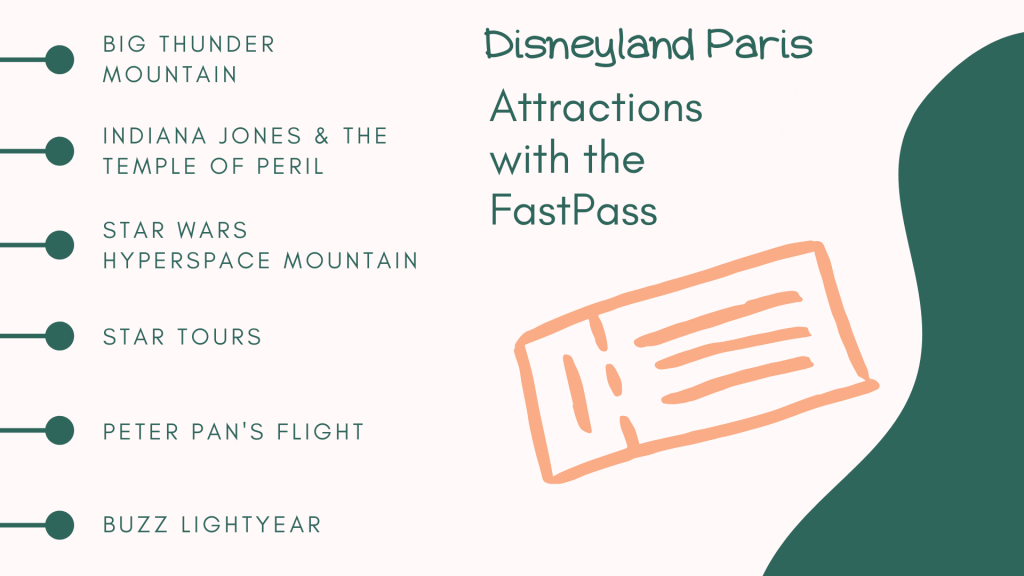 Disneyland Paris - Attractions with Fastpass