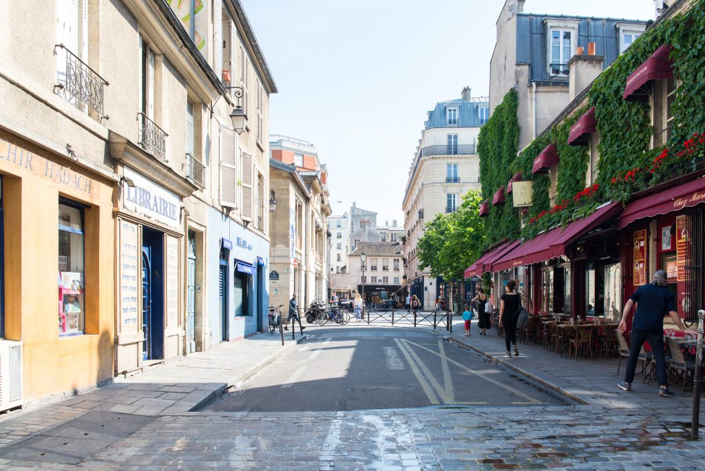 Jewish Quarter - neighborhoods in Paris