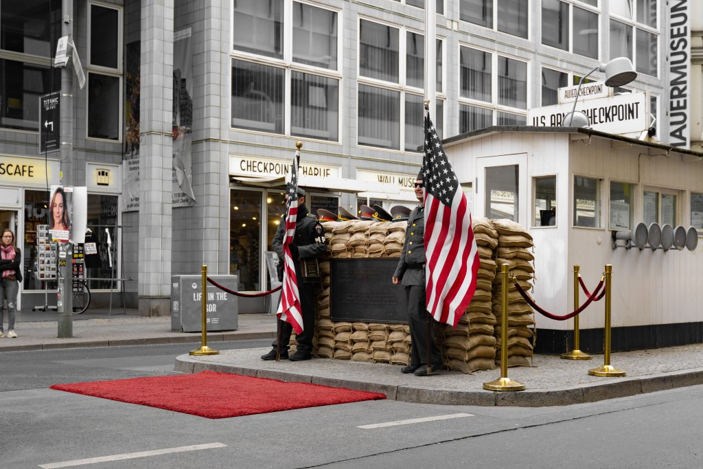 Attractions in Berlin - Checkpoint Charlie