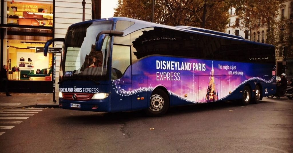 Disneyland Paris express shuttle